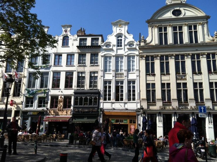 Belgium Square Architecture