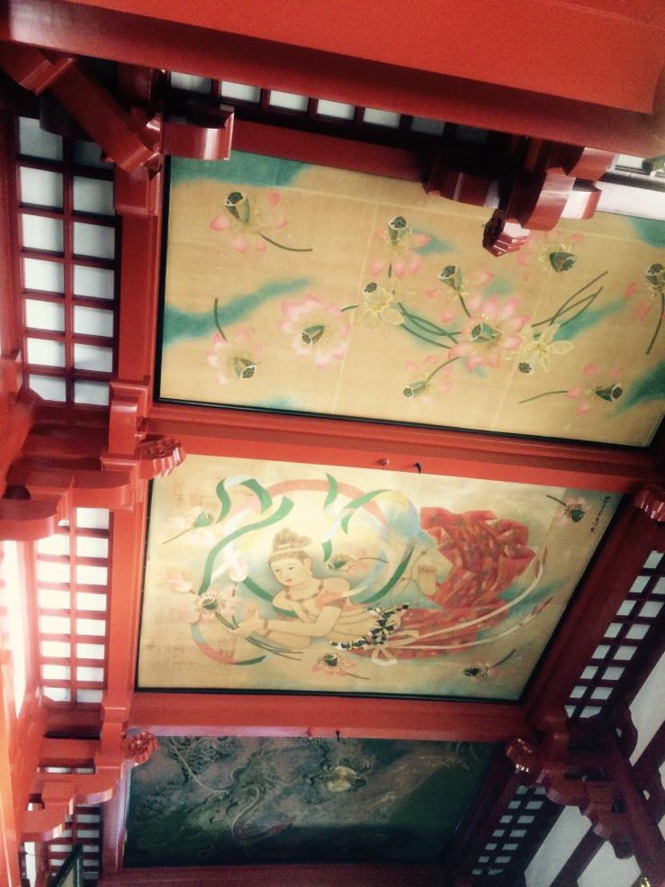 Ceiling Asakusa Temple