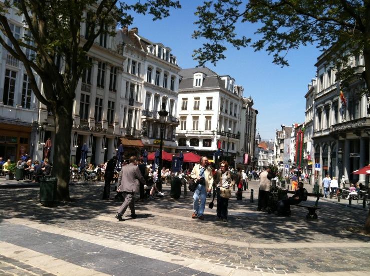 City Belgium Brussels