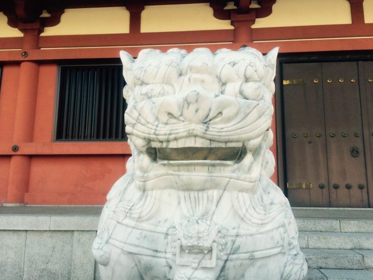 Statue Asakusa Japan