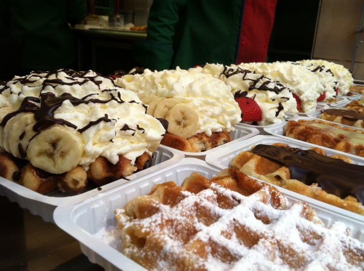 Waffles Brussels Belgium