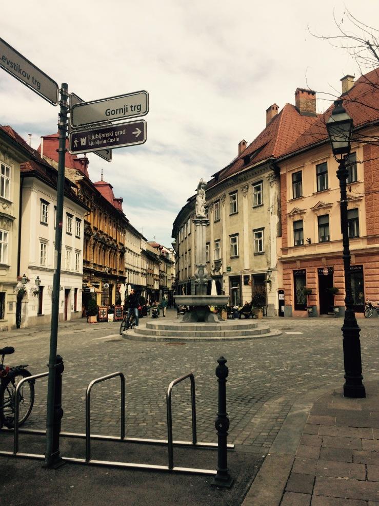 Ljubljana Slovenia Corner