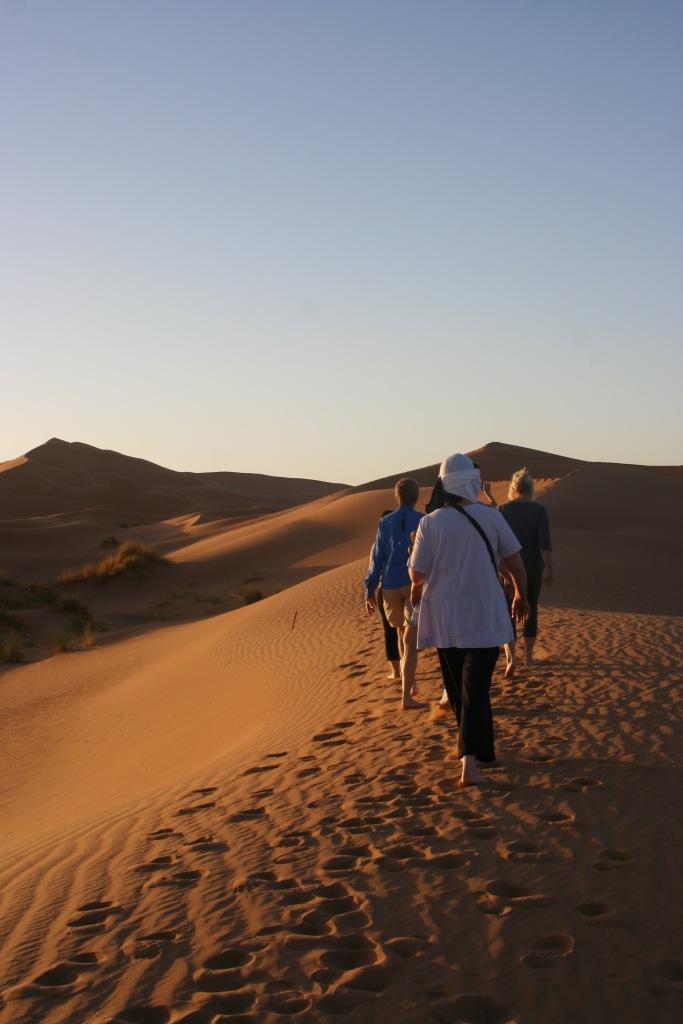 Desert Sahara Hike