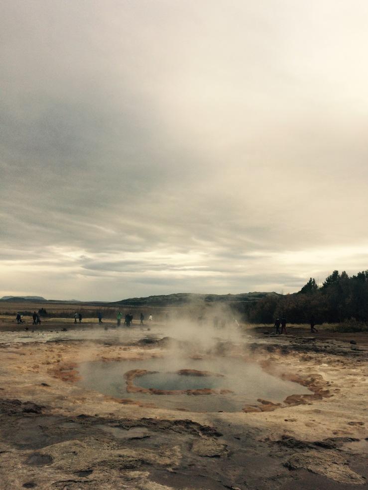Geyser Iceland Dormant