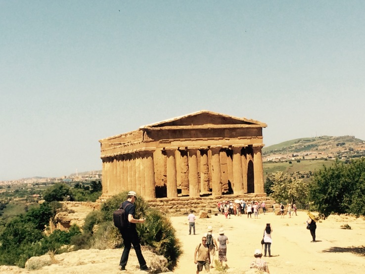 Temple Agrigento Sicily