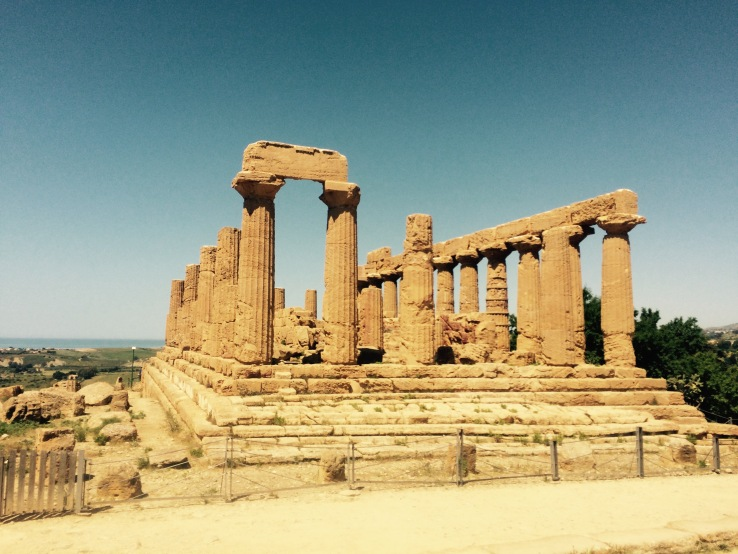 Ruins Agrigento Intact