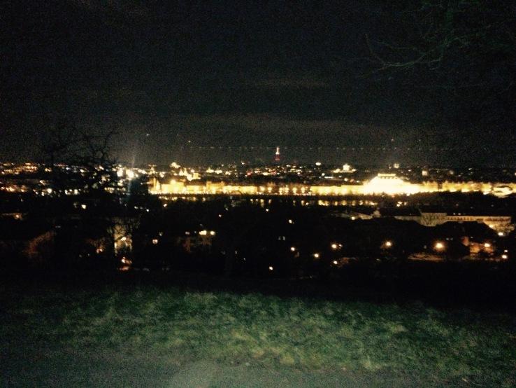 Prague Night Travel