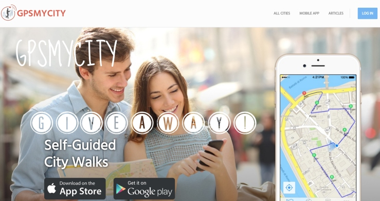 GPSmyCity Giveaway Contest