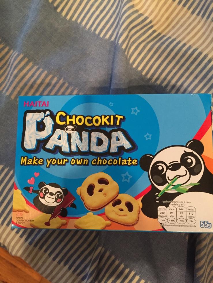 Chocokit Panda MunchPak