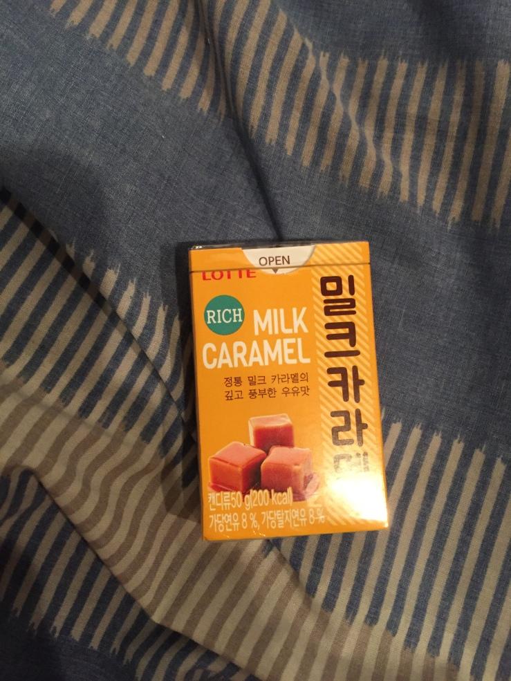 Lotte Milk Caramel