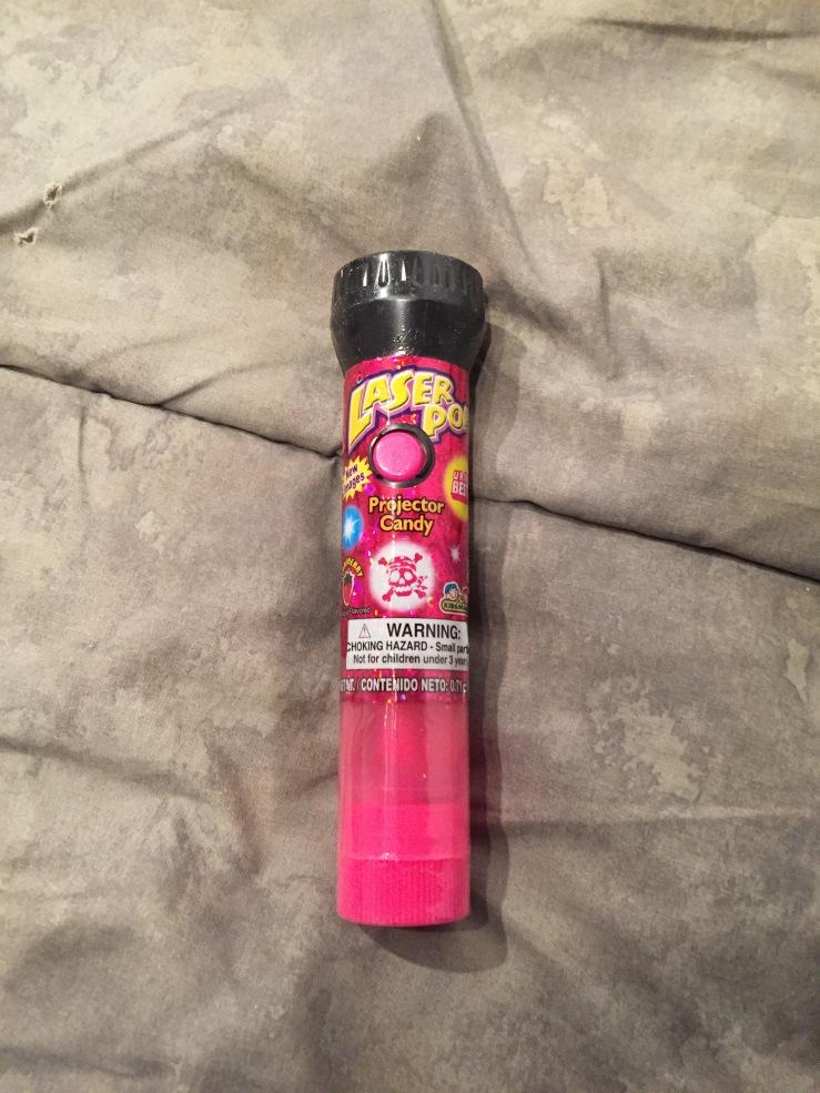 Laser Pop Candy