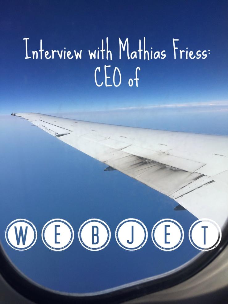 Plane Webjet CEO