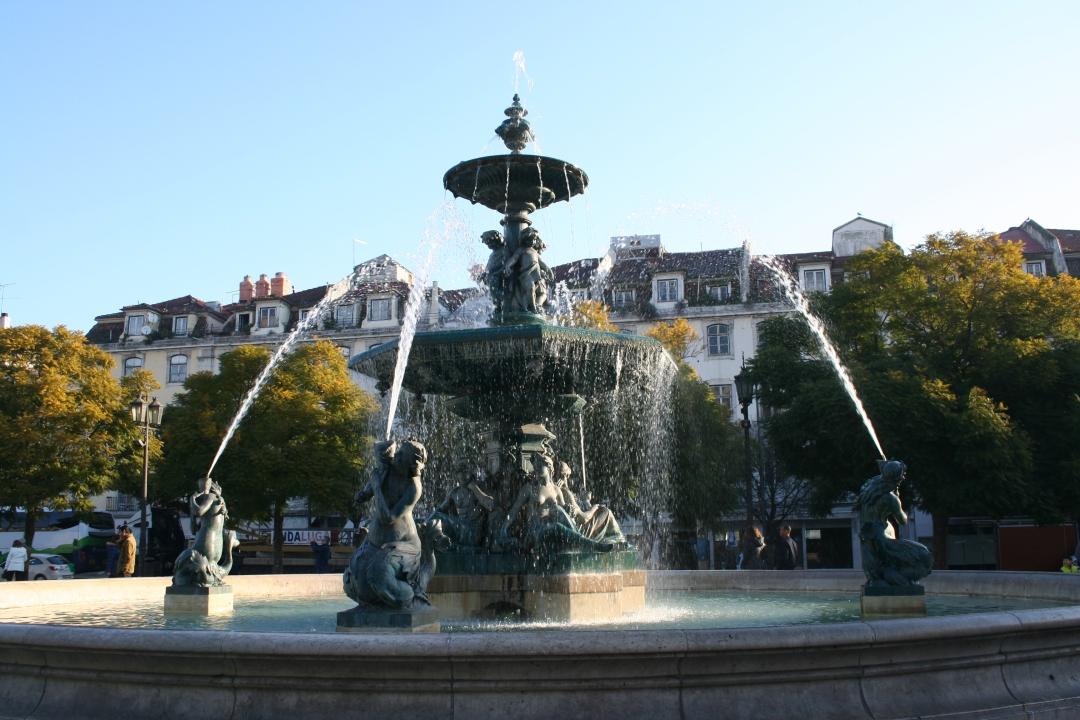 Lisbon Portugal Fountain