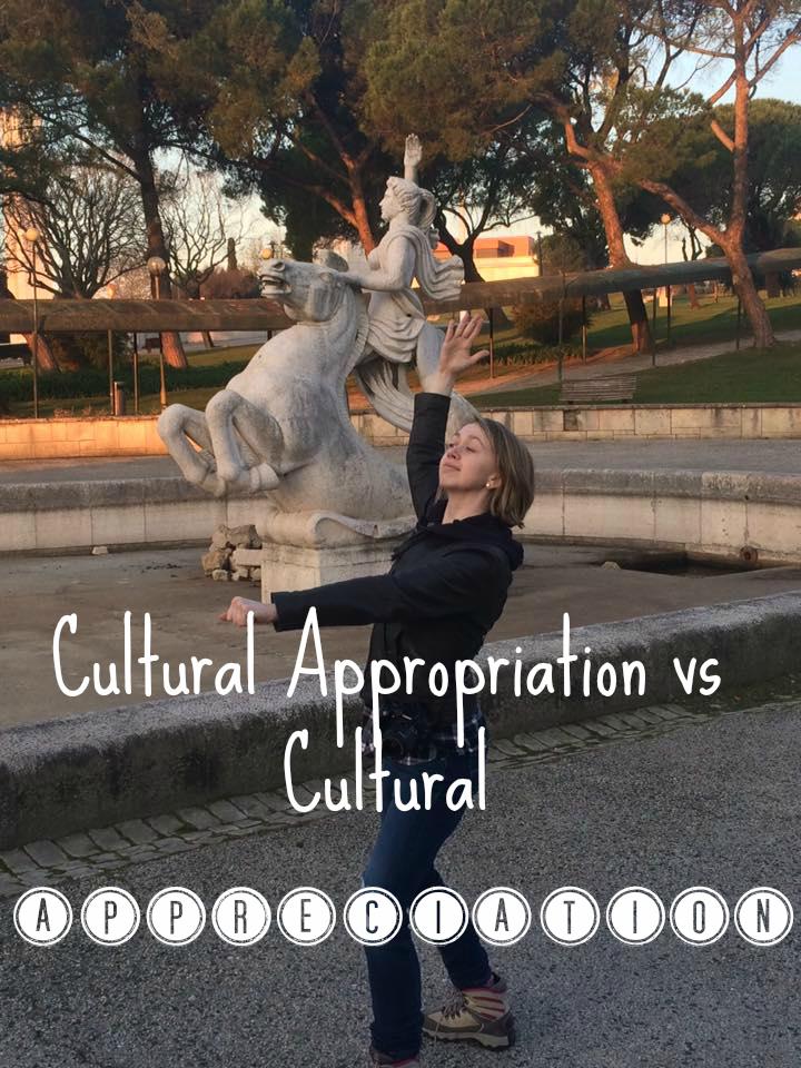 cultural appropriation appreciation