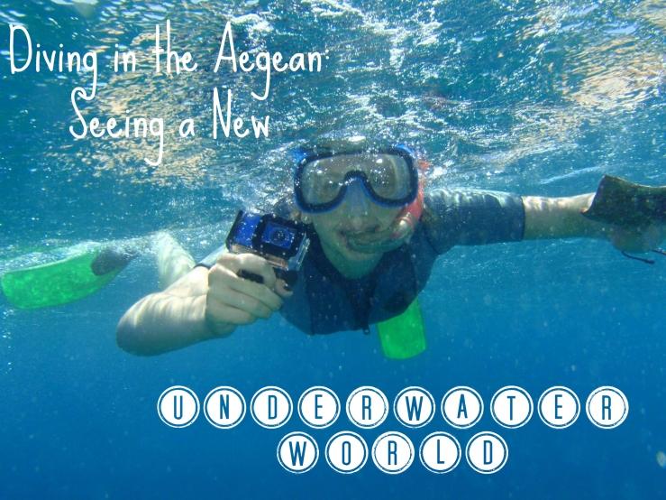 Diving Aegean Sea
