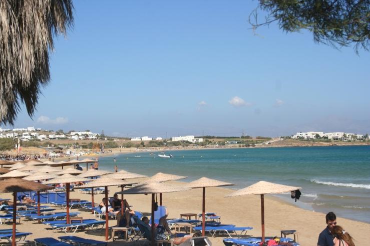 Beach Paros Greece