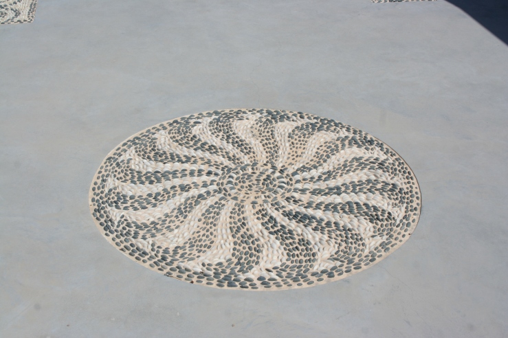 Santorini Mosaic Greece