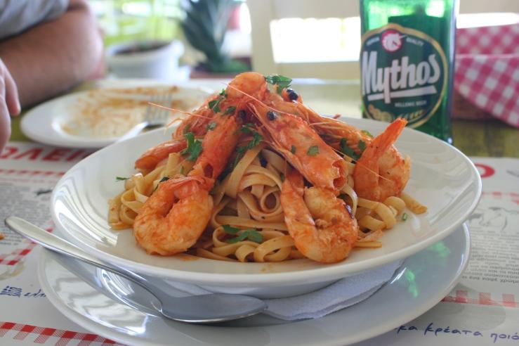 Seafood Santorini Greece