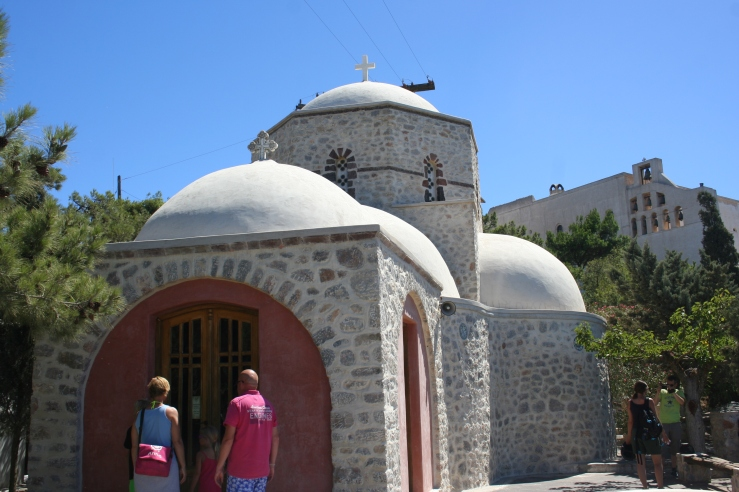 Monastery Santorini Greece