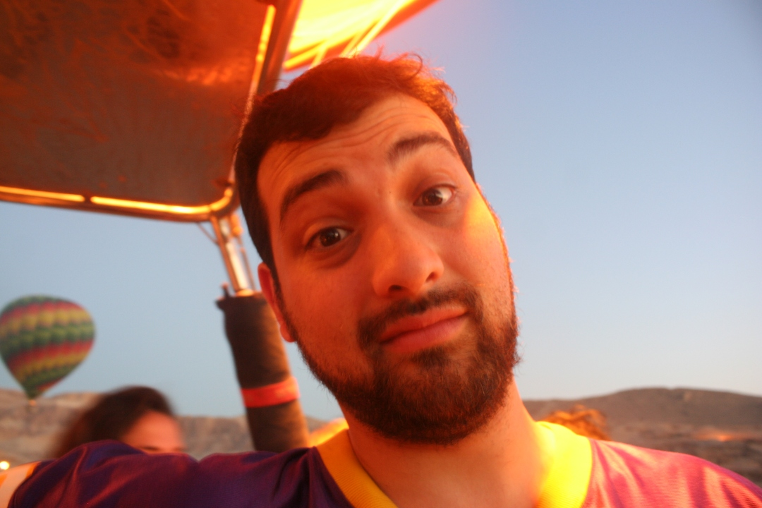 Daniel Balloon Egypt