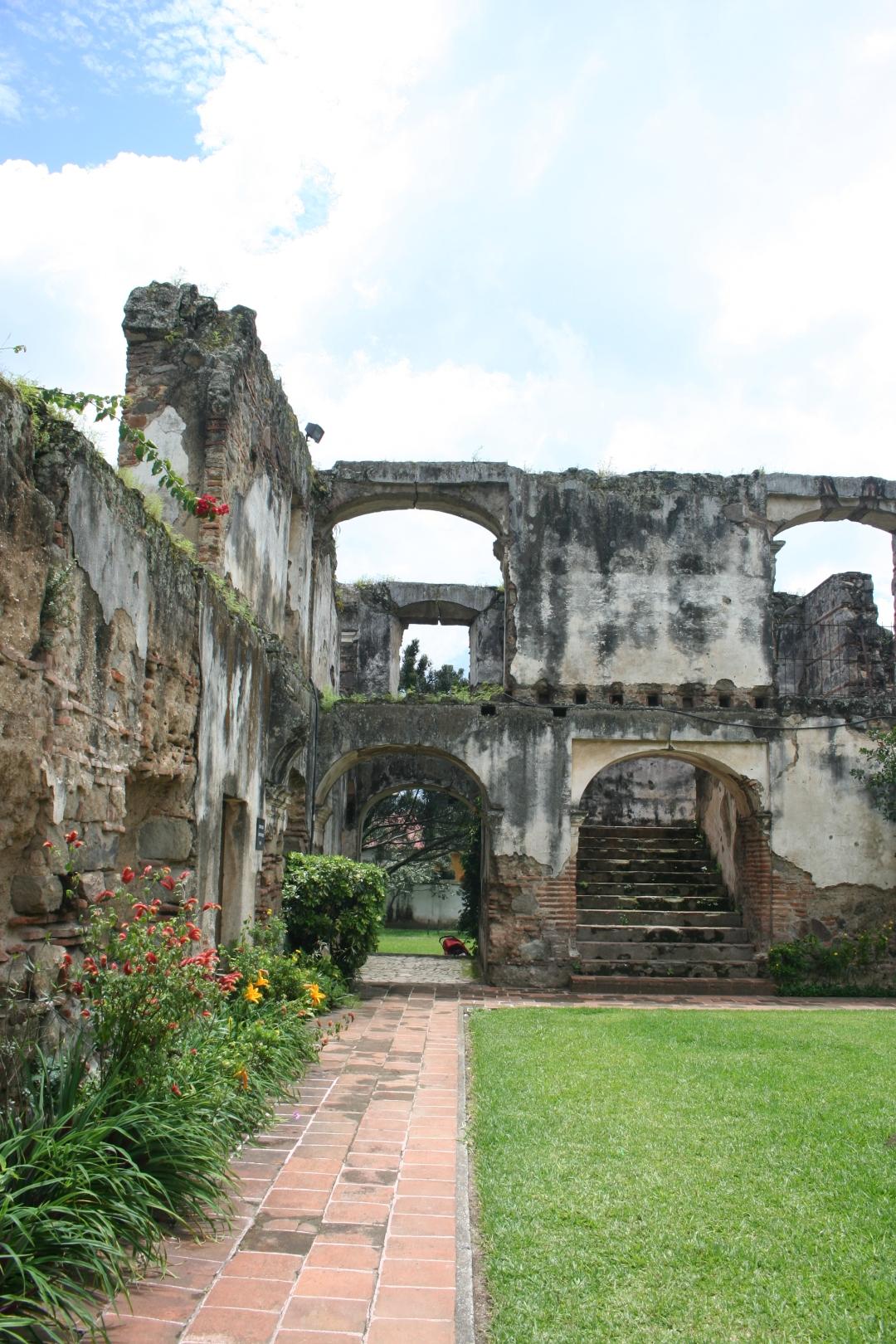 convent antigua guatemala