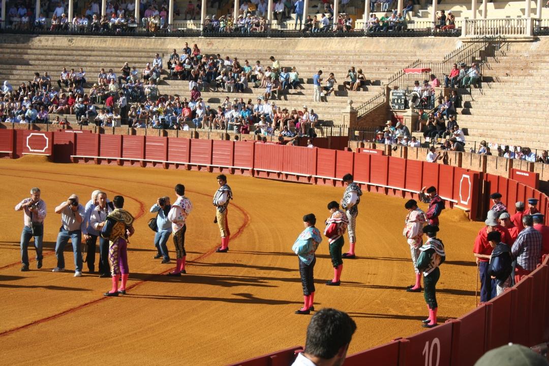 matadors bullfight spain