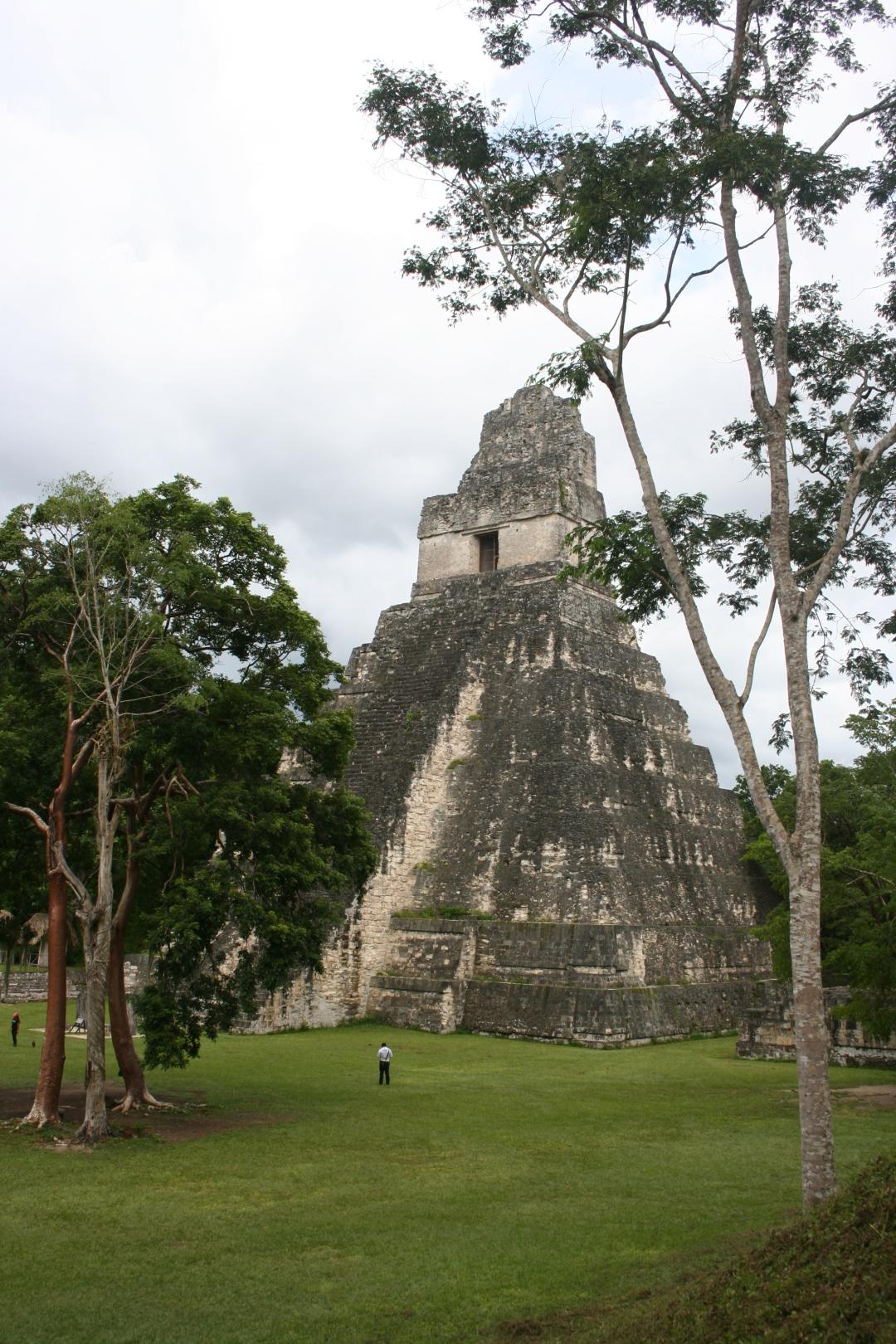tikal main temple