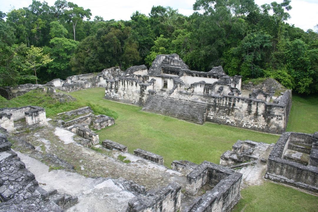 temple complex tikal