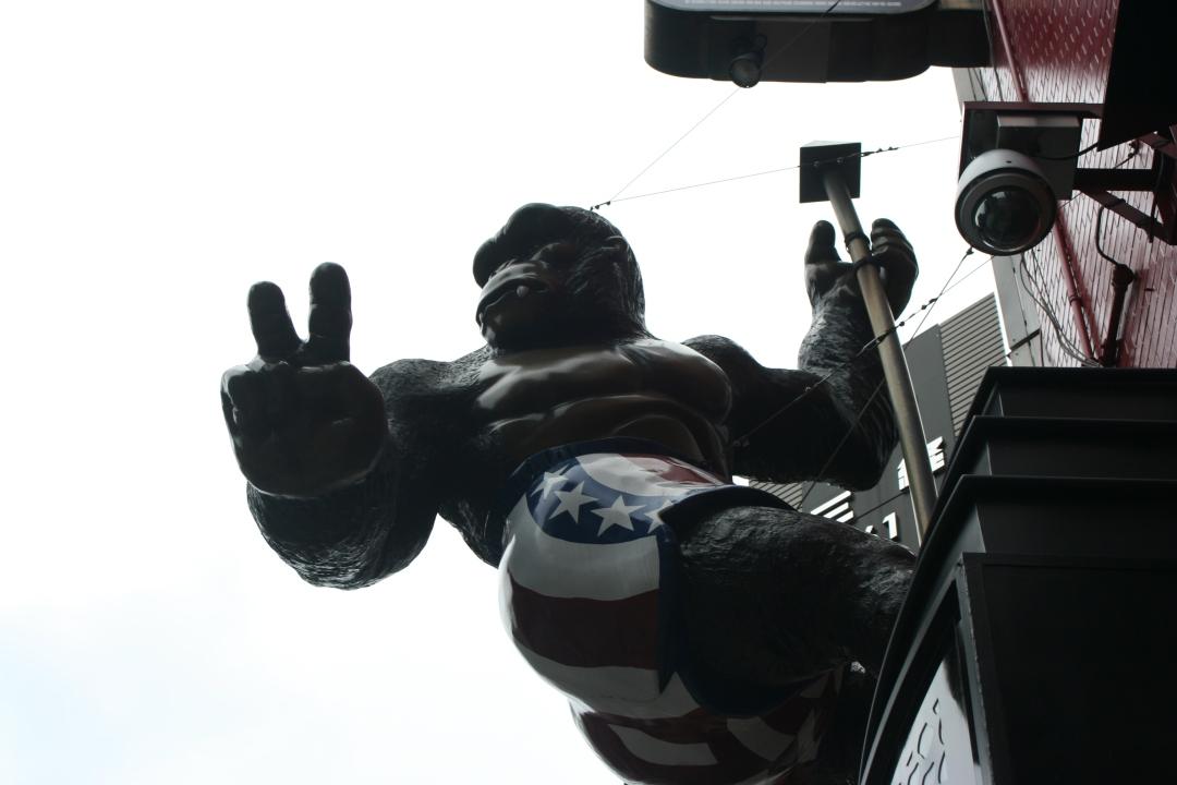 gorilla tokyo japan