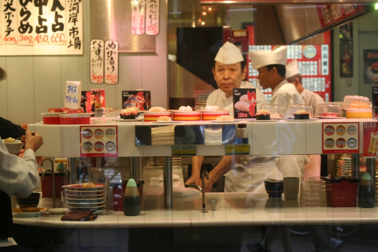 sushi place tokyo