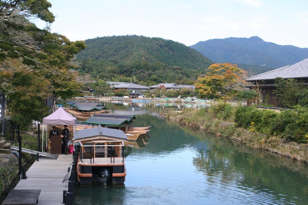 river kyoto japan