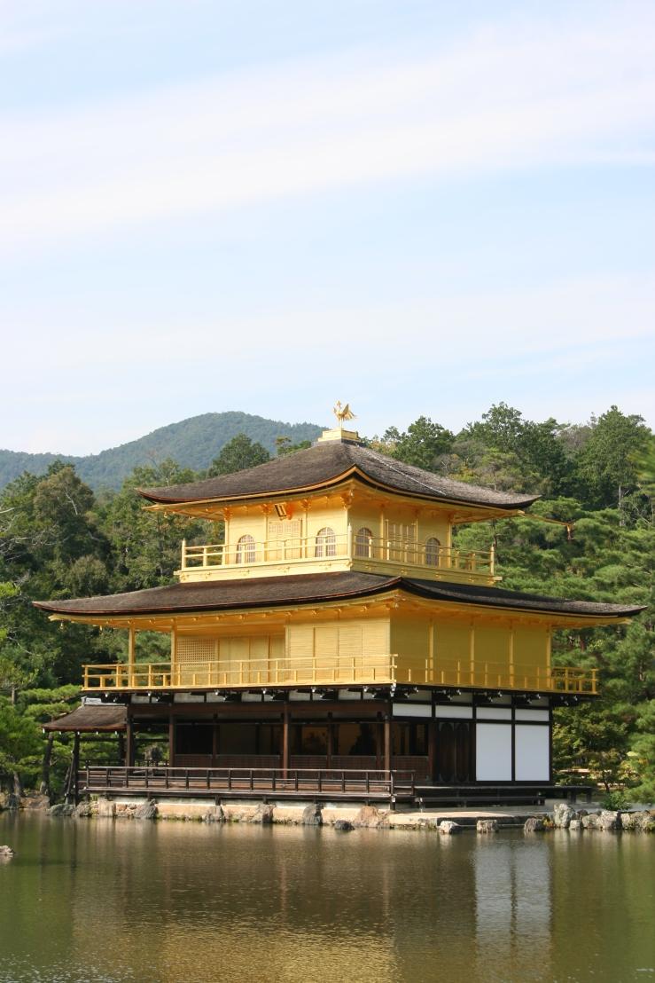 golden pagoda kyoto