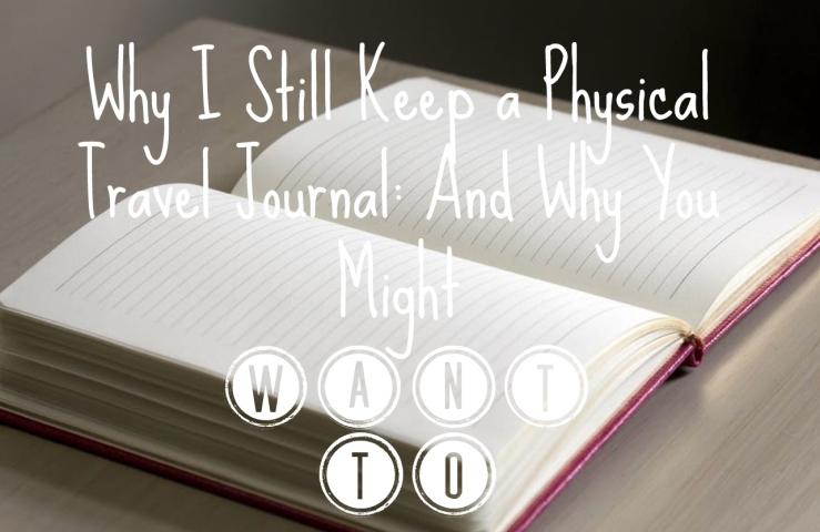 keep travel journal