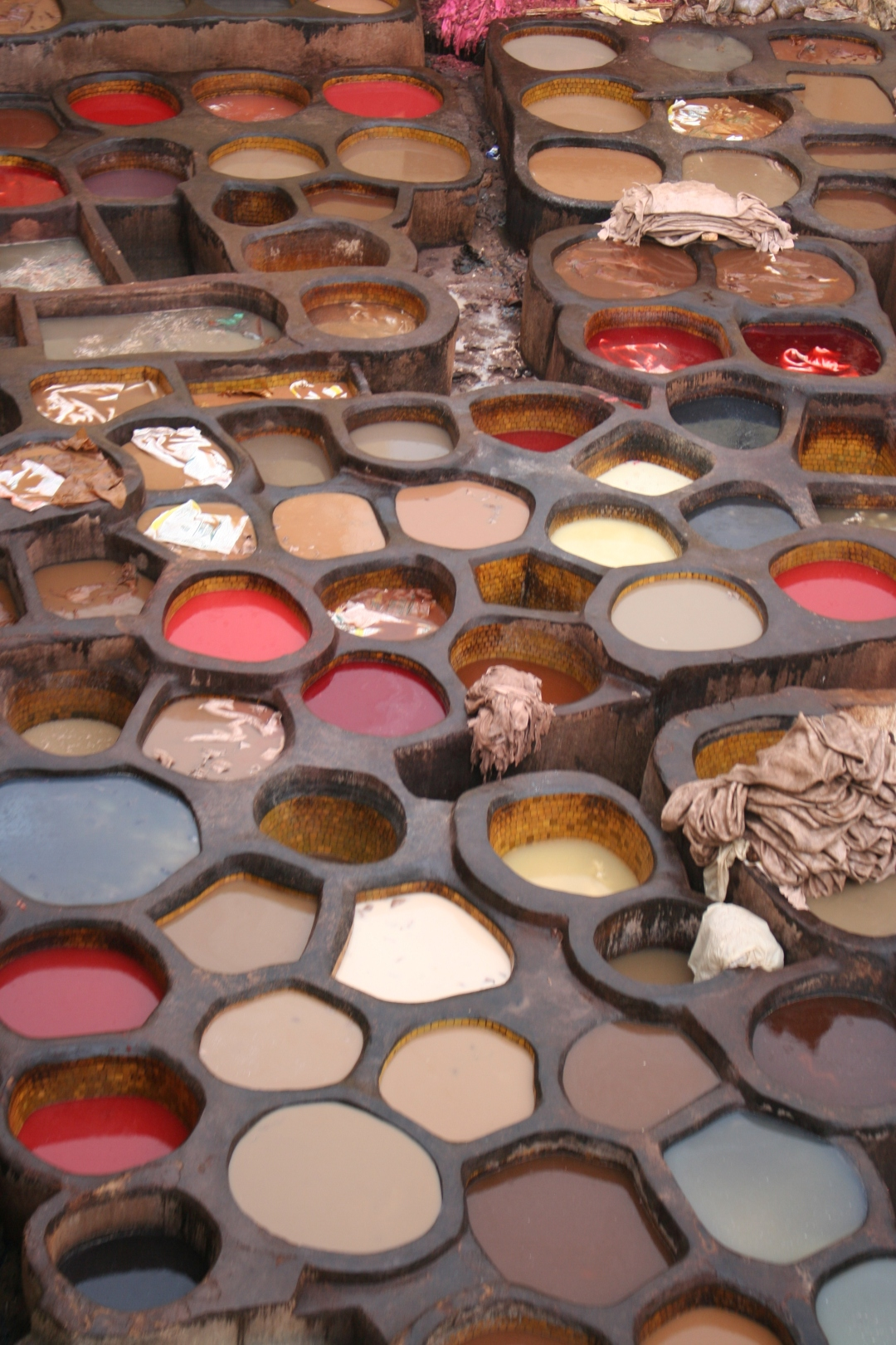 fes morocco tannery