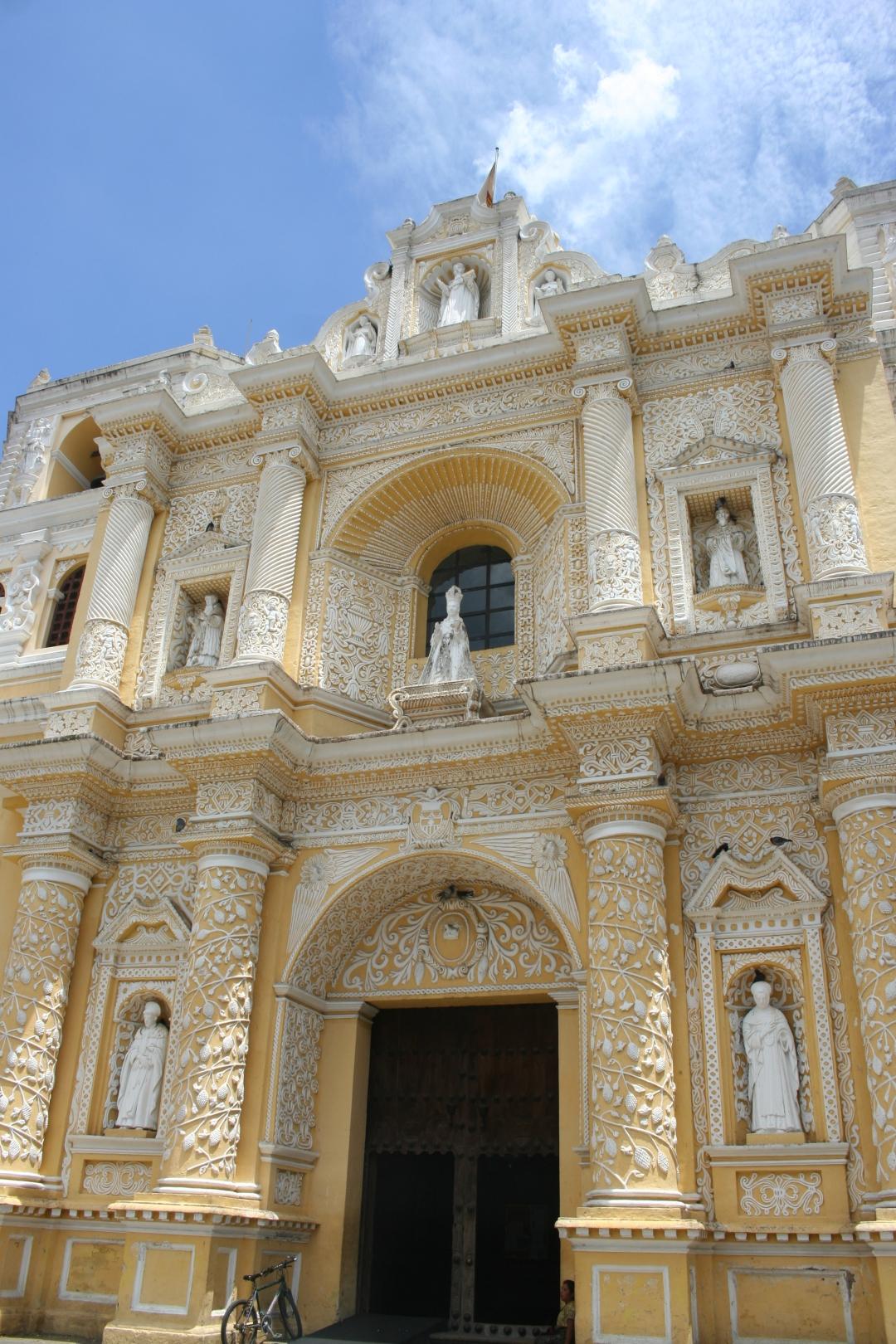 antigua cathedral guatemala