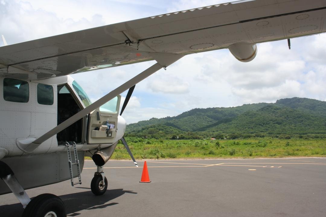 IVY nicaragua plane